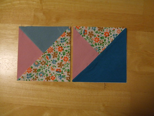 First Paper Piecing Squares