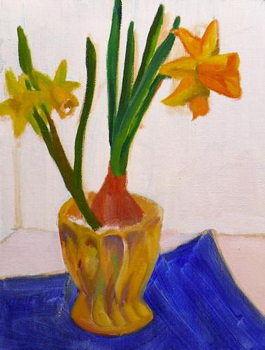 Daffodils 2 - step 3