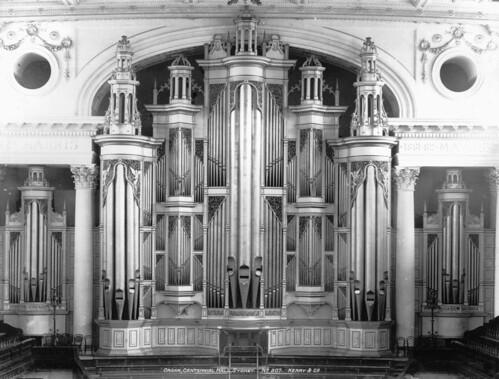 Organ, Centennial Hall, Sydney