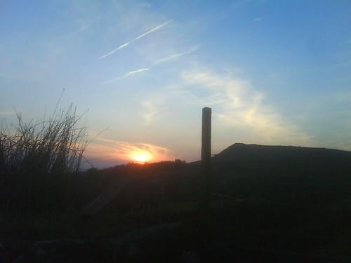 Sheepstor at Sunset, April 08