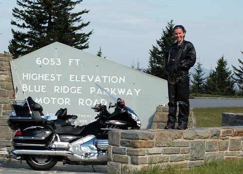 Highest elevation on the Blue Ridge Parkway-2