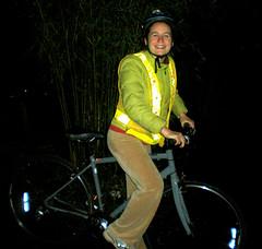 Nina the bike commuter