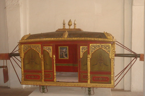 Meherangarh Fort 1-66皇后轎椅