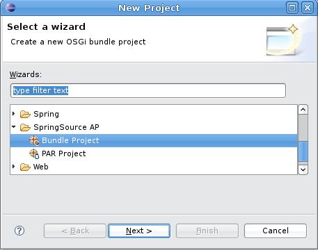 New Bundle Project