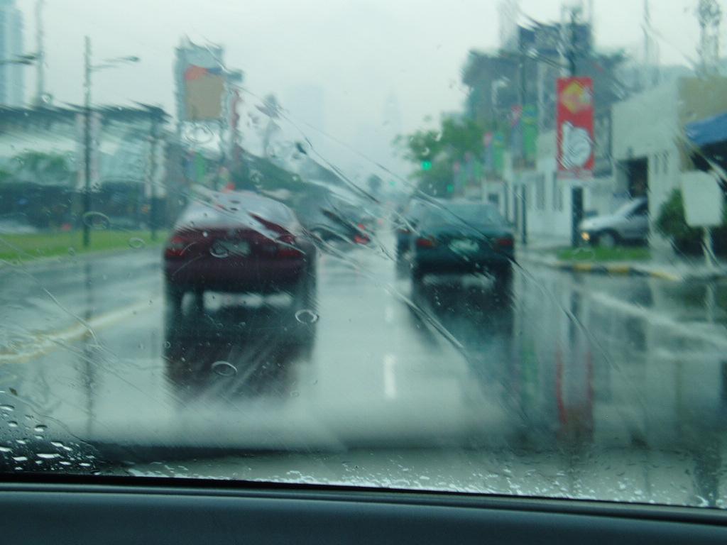 Bonifacio on a rainy day