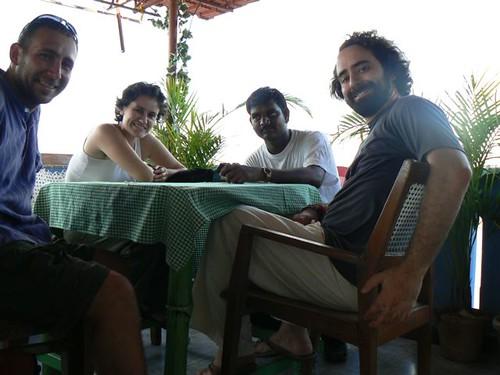 David, Cris, Mohammed i Jordi