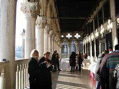Pranzo sulla terrazza di Palazzo Ducale