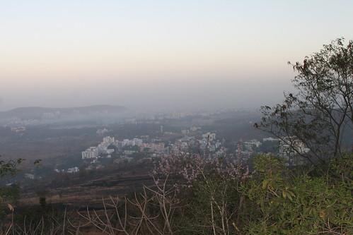 West from Vetal Tekdi