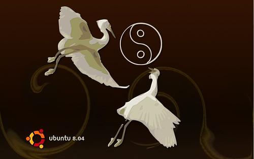 Two Herons