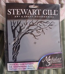 Stewart Gill Tree Stencil