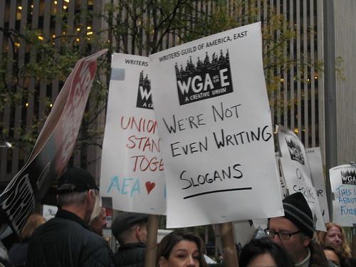 No Justice, No Slogans, by Planetgordon @ Flickr