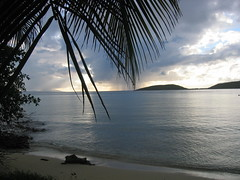 View from Punta Melones, Culebra on Cayo Luis Peña
