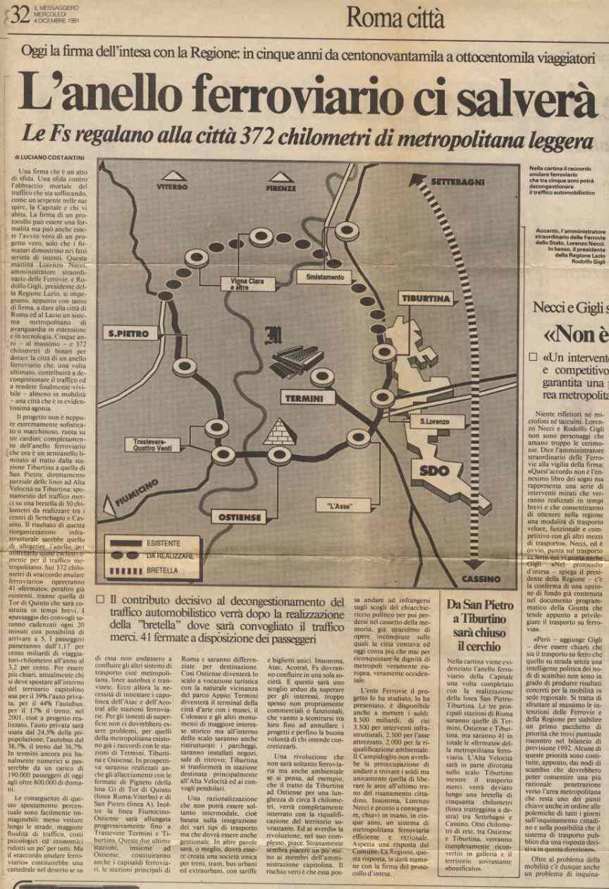 Messaggero dic. 1991
