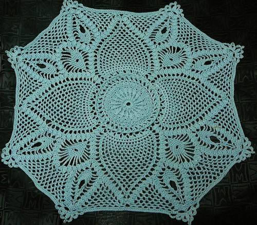 I know, I know - not school related!  But seriously, how stunning is this doily?!