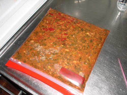 bolognese in a bag