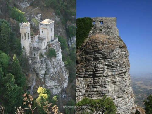 Torretta Pepoli and Castello Venere, Erice, Sicily