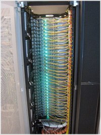 When data center cabling becomes art - Pingdom Royal