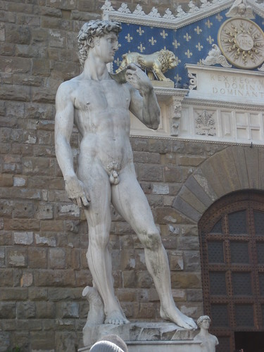 Fake David @ Piazza della Signoria