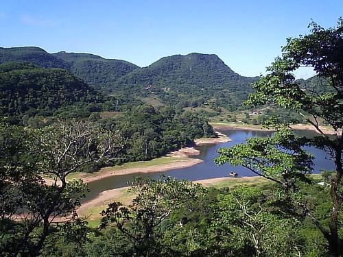 Morro do  Cechella - Vista Barragem do DNOS - Santa Maria RS por  Trekking_RS_BRAZIL.
