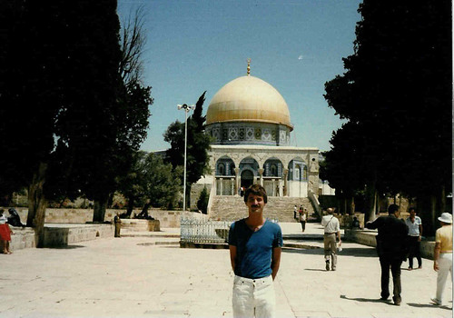 israel - evan at dome of the rock