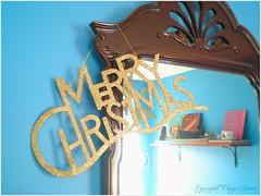 glittery christmastime