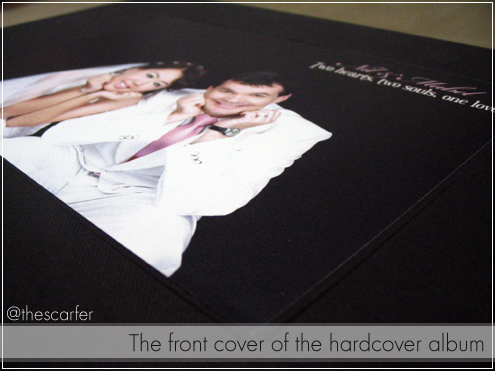 The front cover of the hardcover album