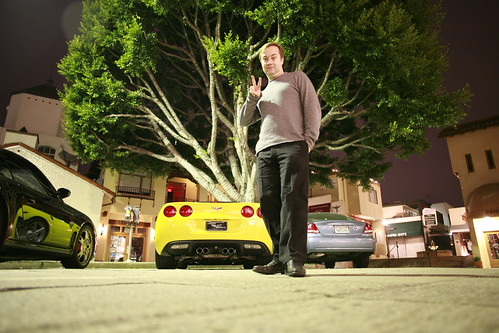 Jason Calacanis and his Vette