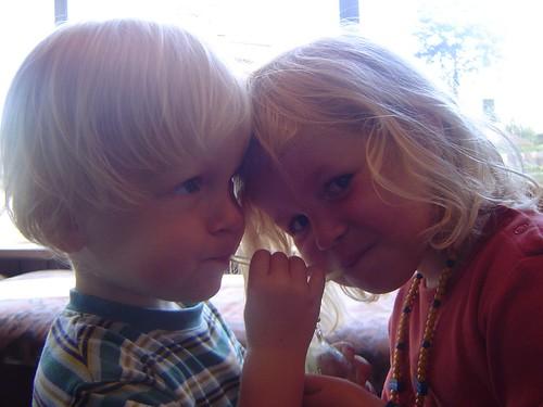 Rune en Elle eind Mei 2007