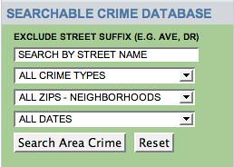 Orlando crime database