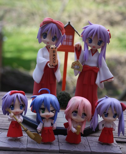 142/365- Lucky Star Shrine Maidens