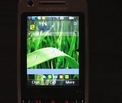 Fring running on Sony Ericsson P1i