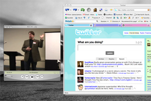 Chris Brogan presents at Podcamp Toronto 2008