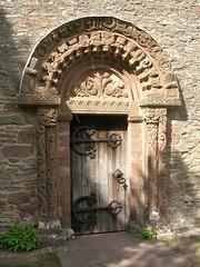 Kilpeck Church door