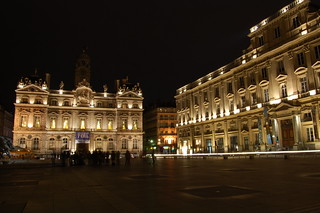 Hotel de Ville and Place des Terreaux in Lyon