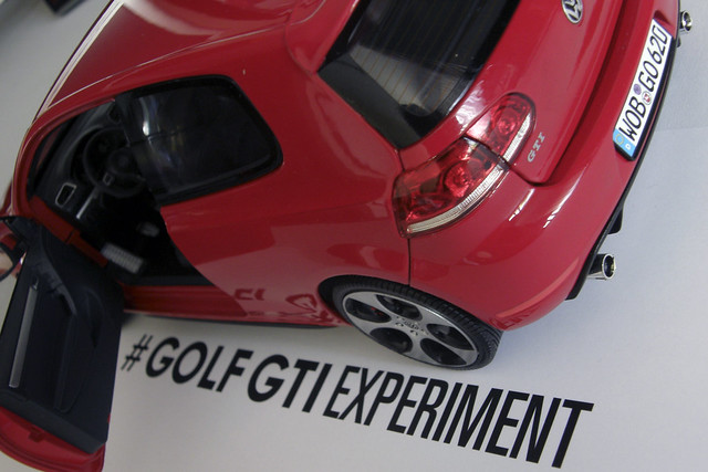 #GolfGTIExperiment 1