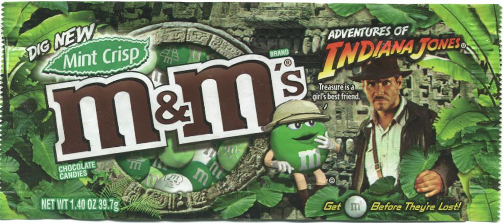 Indy Jones M&Ms
