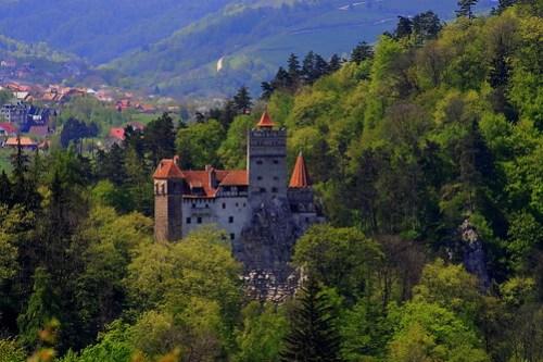 Castelul, Bran, Romania
