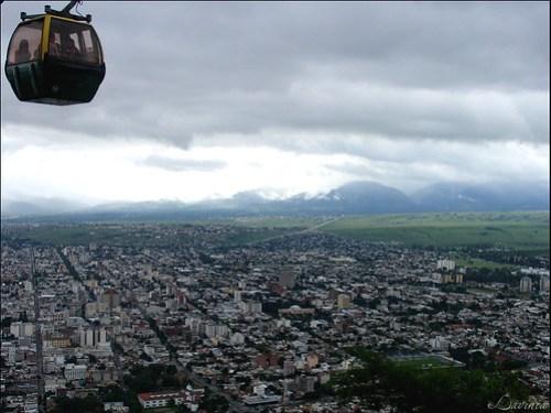 Cable Car Cerro San Bernardo, Salta, Argentina