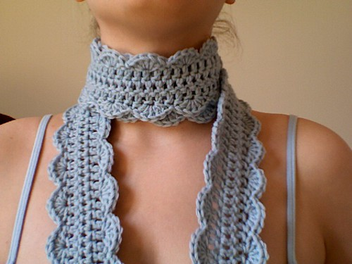 Azzys Finished One Skein Scarf 3