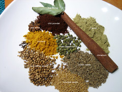 Making my own curry powder