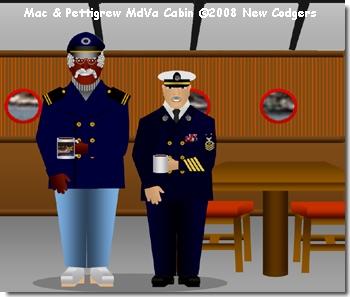 Mac & Pettigrew MdVa Cabin ©2008 New Codgers