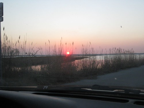 Sunset from the Car