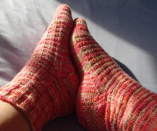 Plushness Harris Tweed Socks