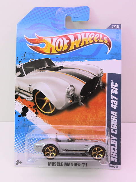 hot wheels shelby cobra sc 427 silver (1)