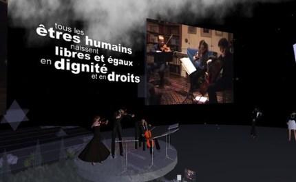 Concert pour les Droits de l'Homme / ONU / Ile Verte Les Humains Associés