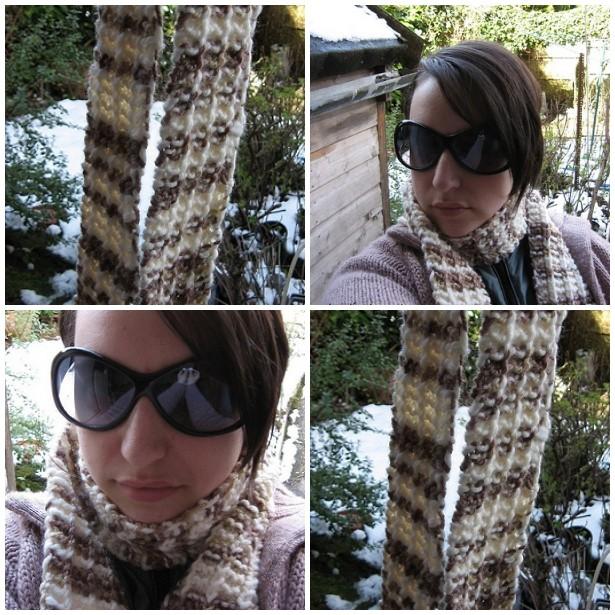 1 row 1 year scarf mosaic