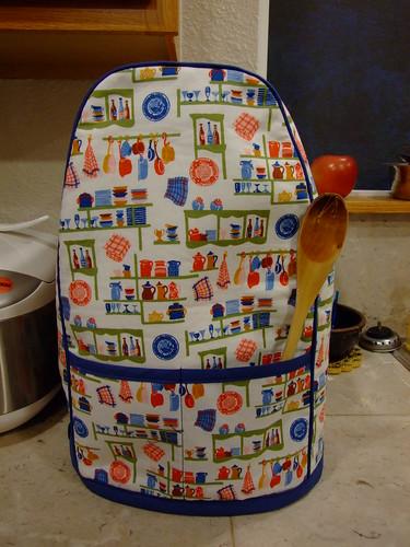 kitchenaid mixer cover (front)