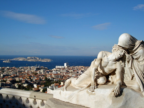 Notre Dame de la Garde - Marseille - foto: Howard, flickr