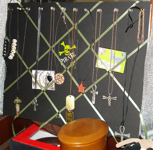 My new jewelry and ACEO board