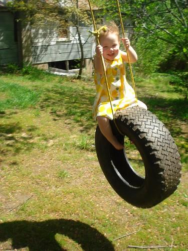 Lemonade Dress - tire swing